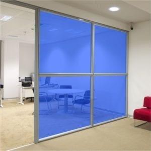 Blue Coloured Window Film
