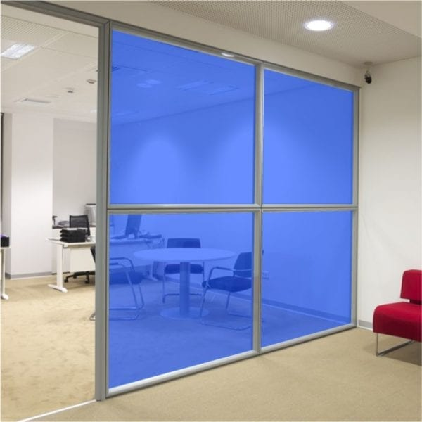 Blue Coloured Window Film