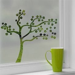 Nature Patterned Window Film