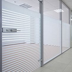 Patterned Frosted Window Film Rolls