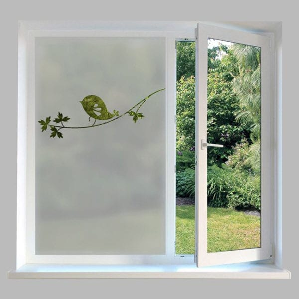 Contemporary Frosted Window Film