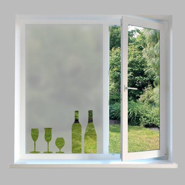 Contemporary Kitchen Window Film - DC31