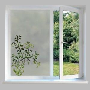 Contemporary Window Film Butterflies