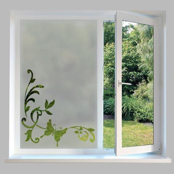 Contemporary Window Film Butterfly