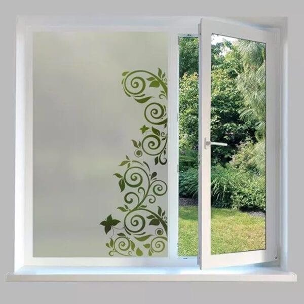 Contemporary Window Film Butterfly Swirl - DC56