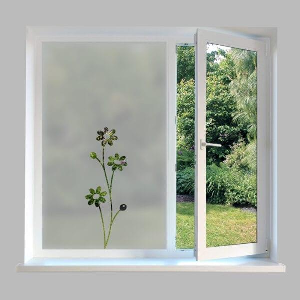 Contemporary Window Film Daisies - DC46