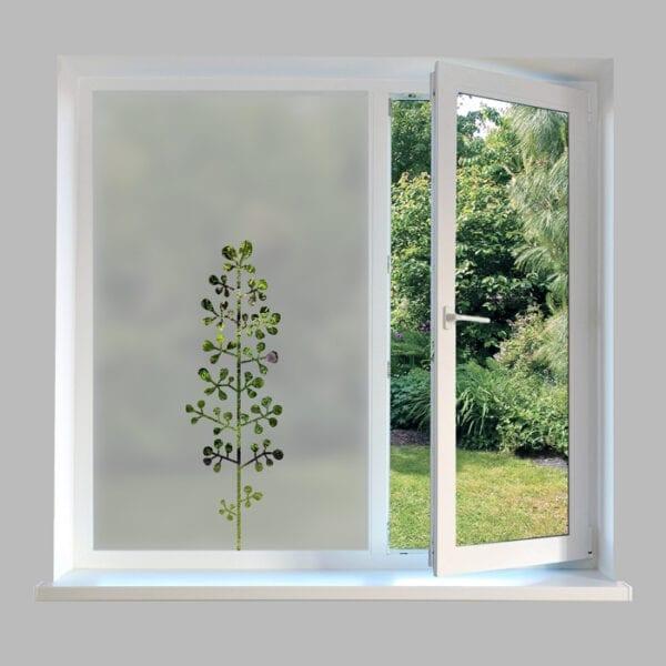Contemporary-Window-Film-Flower-Stem-DC66