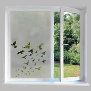 Contemporary Window Film Flying Birds