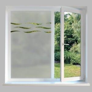 Contemporary Window Film Wave