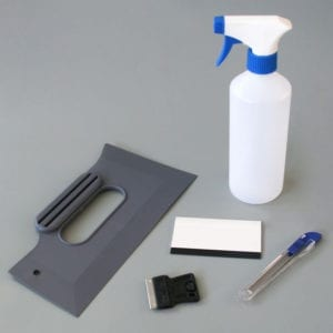 Window Film Fitting Kit