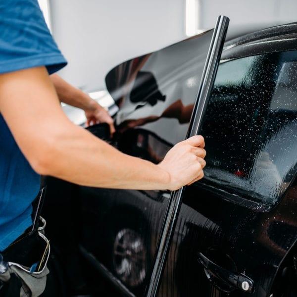 Car Window Tint Premium Charcoal 50% Light