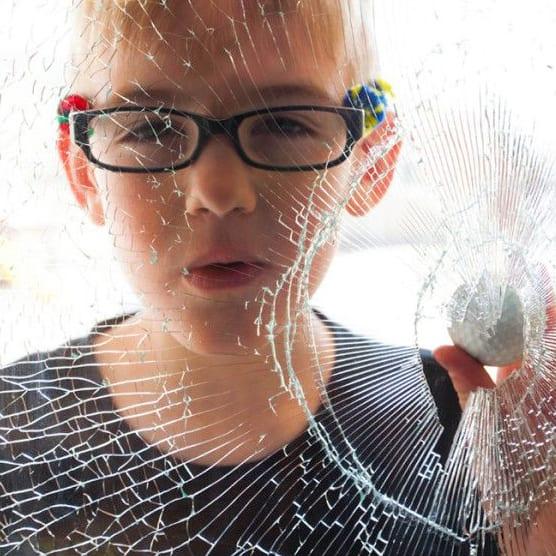 Clear Safety Window Film 100 Micron