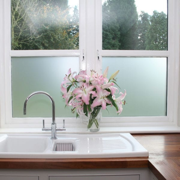 Opal White Frosted Window Film