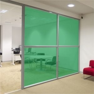 Green Coloured Window Film