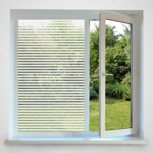 Horizontal Striped Window Film 18mm