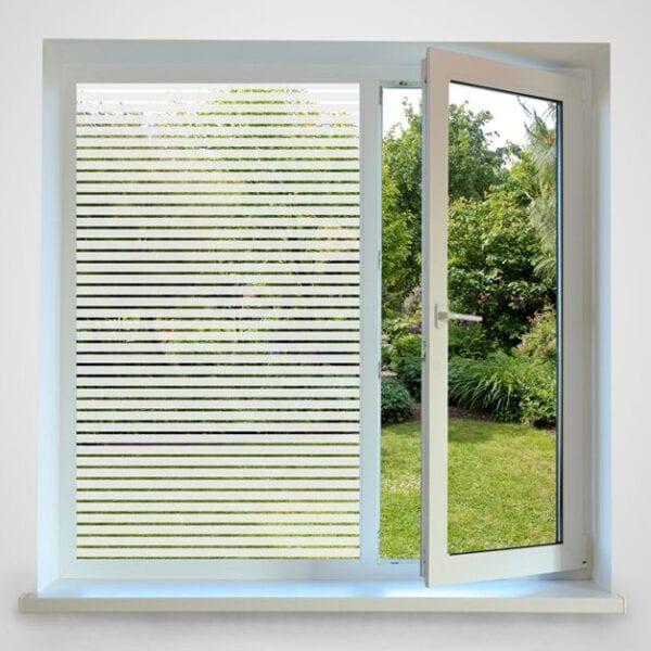 Horizontal Striped Window Film 18mm