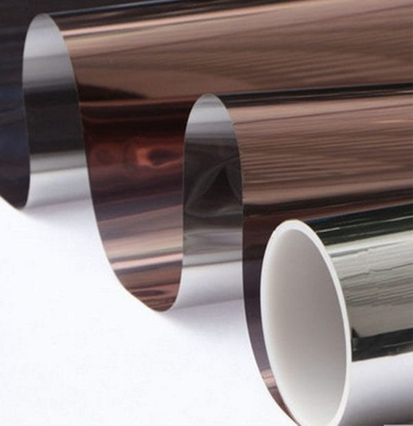 Reflective bronze Mirror Window Film 2