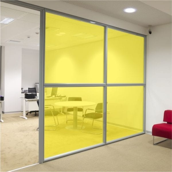 Yellow Coloured Window Film