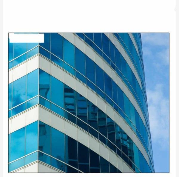 blue reflective window film 2