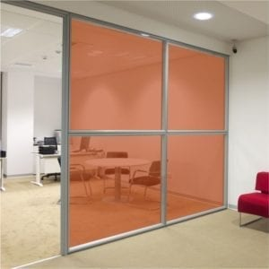 copper brown coloured window film