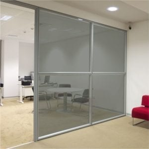 dark grey coloured window film