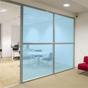Ice Blue Coloured Window Film