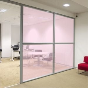 Pink Coloured Window Film