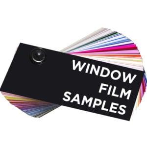 Window Film Samples