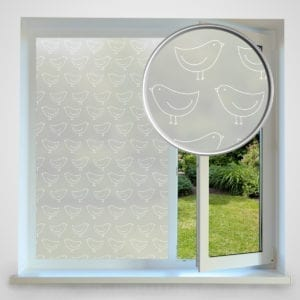 bird privacy window film