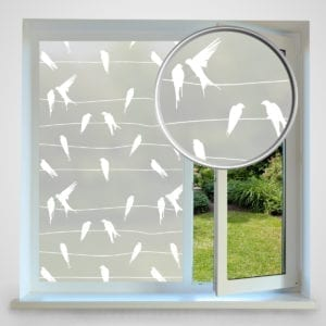 birds privacy window film