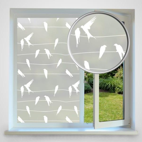 birds privacy window film