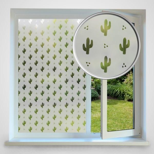 Cactus Privacy Window Film