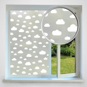 Cloud privacy window film