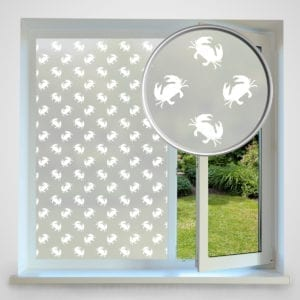 Crab privacy window film