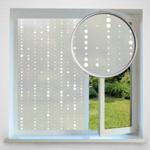 Dot Chain privacy window film