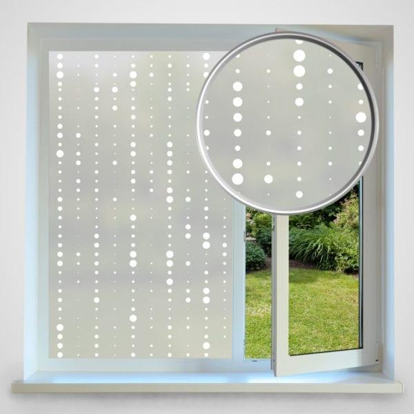 Dot Chain privacy window film