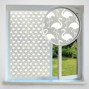 Flamingo privacy window film
