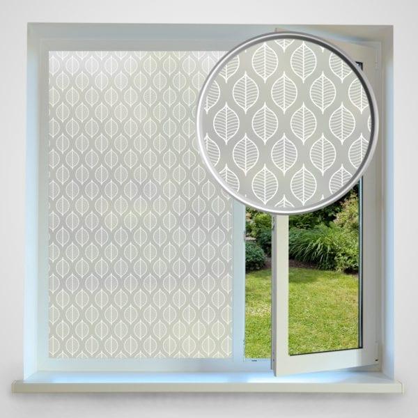 Leaf privacy window film