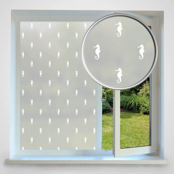 Seahorse privacy window film