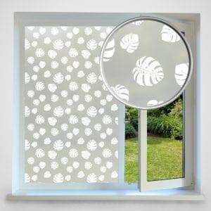 Split Leaf privacy window film