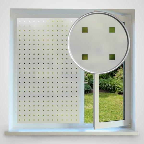 Square Privacy Window Film