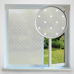 Star privacy window film