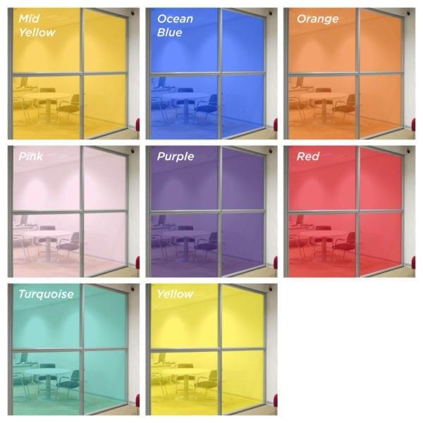 coloured window film 1
