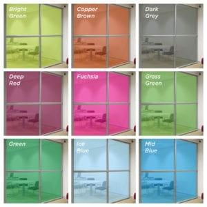 coloured window film 2
