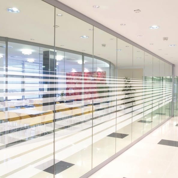 Gradual-Line-Window-Film---Lineal-pattern-decorative-patterned