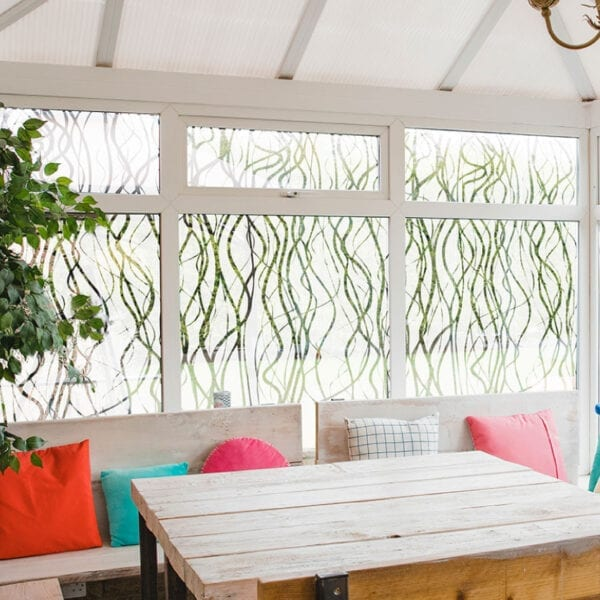 Willow Reed Nature Window Film