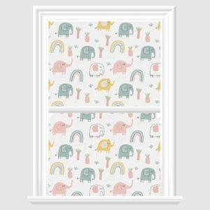Elephant Decorative Window Film