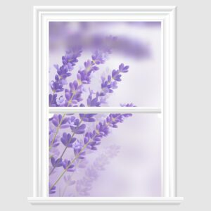 Lavender Decorative Window Film