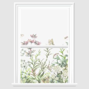 Spring Flowers Decorative Window Film
