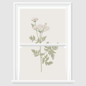Vintage Flower Decorative Window Film
